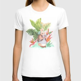 Adventure Bun Girl T-shirt
