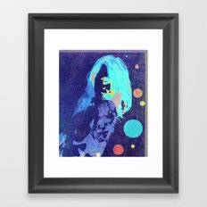 Drawn Beauty Framed Art Print
