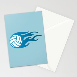 The Volleyball I Stationery Cards