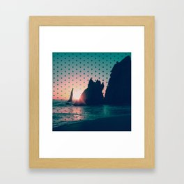 Sunrise Rock Framed Art Print