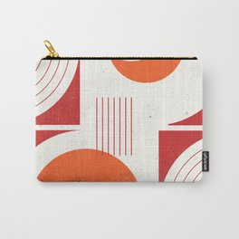 Abstract Lines 1 Carry-All Pouch