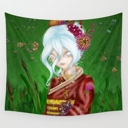 White Mage Wall Tapestry