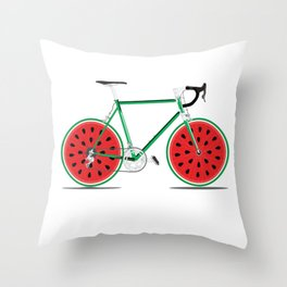 Melon Single Speed Throw Pillow