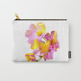 New Mixed Era -  Purple Faced Flower Carry-All Pouch