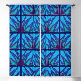 Decorative Purple Points Blackout Curtain