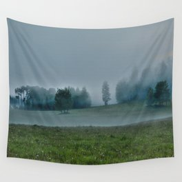 God's Pasture - Wilderness Ranch Land Wall Tapestry