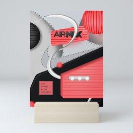Air Max Abstract 90 Sneaker Mini Art Print