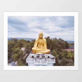 • Legacy • Thailand Monk Statue Art Print