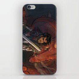 Dragons and Direction: Zayn iPhone Skin