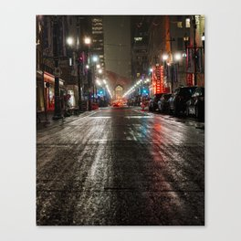 Downtown Calgary Canvas Print
