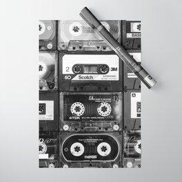 Something Nostalgic - black and white #decor #buyart #society6 Wrapping Paper