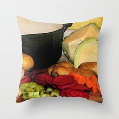 Lets Make Soup! Throw Pillow
