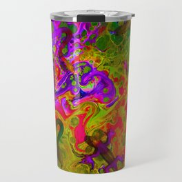 Rainbow Snakes Travel Mug