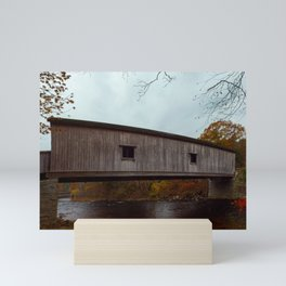 Comstock Covered Bridge Mini Art Print