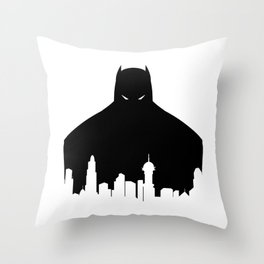 Gotham's Bat-Man Throw Pillow