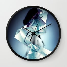 Crystarium Wall Clock