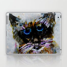 Old Cat Laptop & iPad Skin
