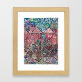 Жібек Жолы Framed Art Print