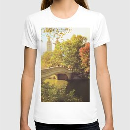 New York City Fall Foliage T-shirt