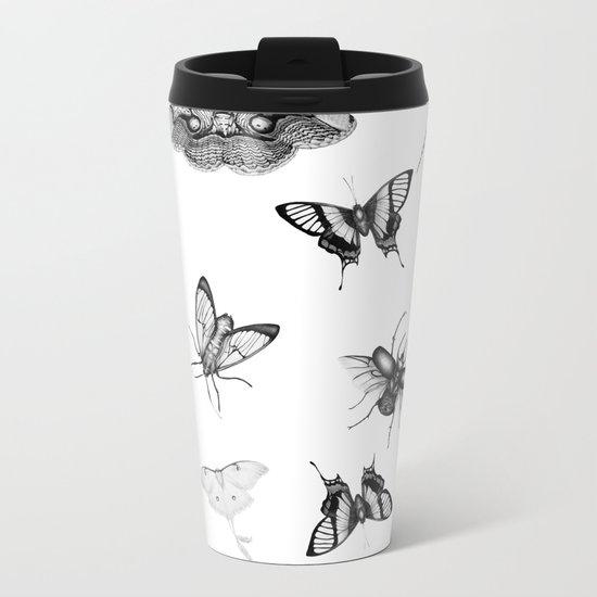Entomologist Dreams Metal Travel Mug