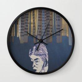 Johanna thinking Wall Clock