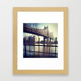 Good Morning East River Framed Art Print