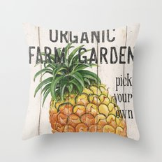 Farm Garden 1 Throw Pillow