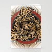 warcraft Stationery Cards featuring Storm of Swords by Plan 9 Design