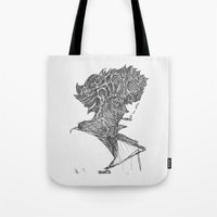 cowboy bebop Tote Bags featuring Space Cowboy by Hinterlund