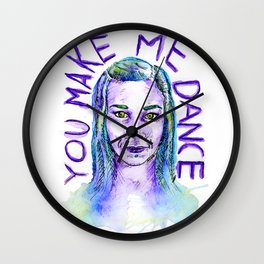 You make me dance Wall Clock