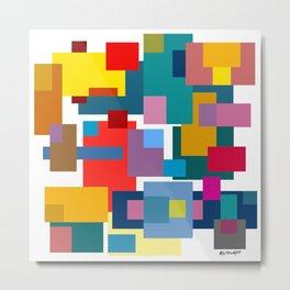 Color Blocks #4 Metal Print