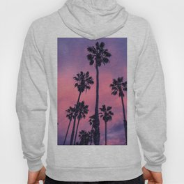Palm trees and Sunset Hoody