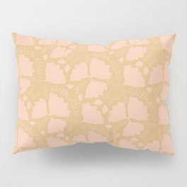 Golden papillon Pillow Sham