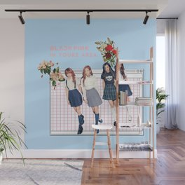 BLACK PINK IN YOUR AREA Wall Mural