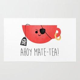 Ahoy Mate-tea! Rug