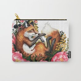 Flora and Fauna Fox Carry-All Pouch
