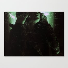 Suicide Witch in Critique I Canvas Print