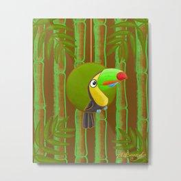 Happy Toucan! Metal Print