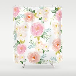 Floral 02 Shower Curtain