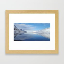 Iceland reflections Framed Art Print