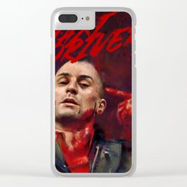 Taxi Driver Clear iPhone Case