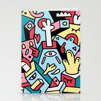 totem Stationery Cards featuring ToTem by Mister Phil