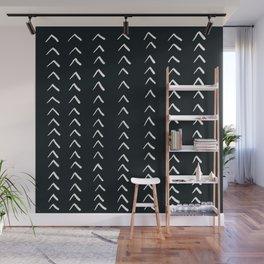 MOD_RowsofArrows_Charcoal Wall Mural