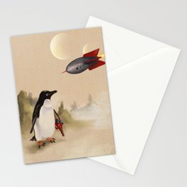 Pulp Penguin Stationery Cards