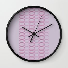 Oh, Ovals Wall Clock