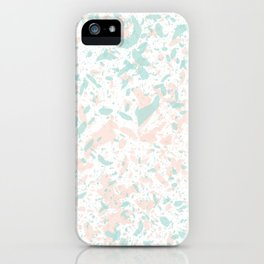 Speckled Cotton Candy iPhone Case