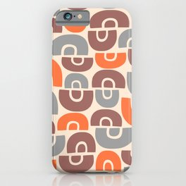 Mid Century Modern Abstract Composition 131 iPhone Case