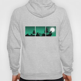 The sheep and the wolf in the woods Hoody