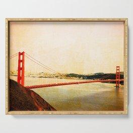 GOLDEN GATE BRIDGE - SAN FRANCISCO Serving Tray
