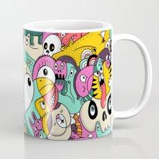Scribble Guys Pattern Mug